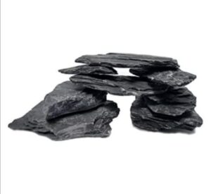 Natural Slate large 5 to 7 inch Stones